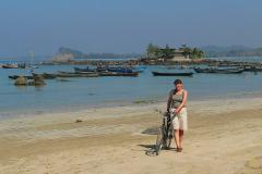 Myanmar, Ngapali Beach, Am Kap