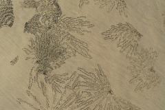 Myanmar, Ngapali Beach, Spuren im Sand