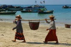 Myanmar, Ngapali Beach