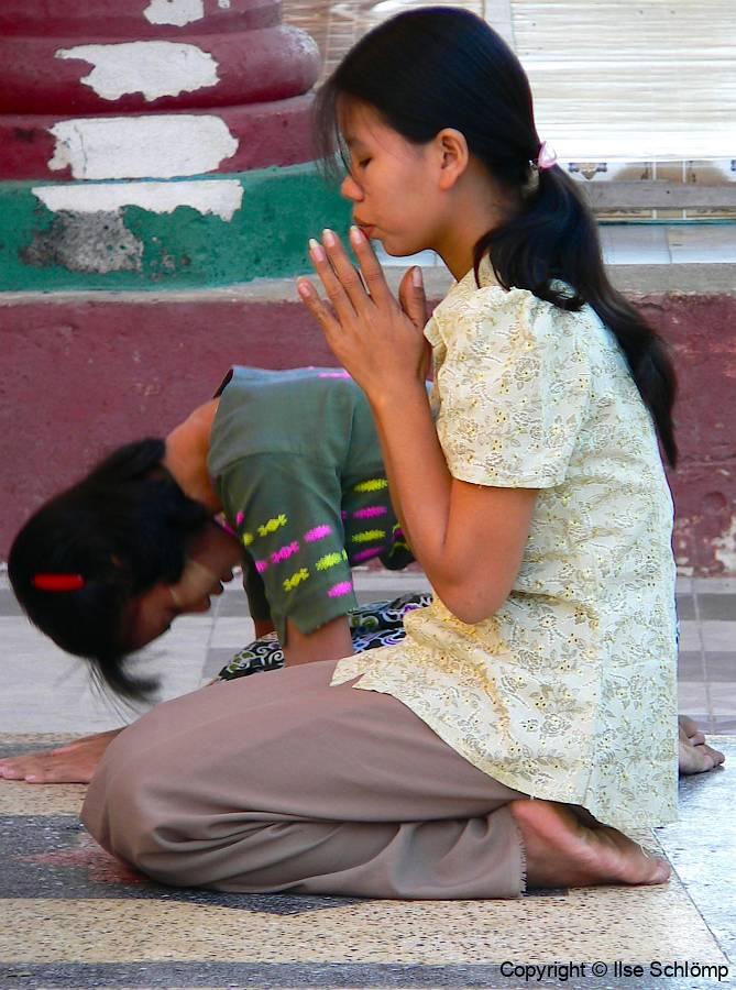 Myanmar, Pyay, Shwesandaw Pagode