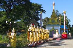 Myanmar, Pyay, Shwemyetman Pagode