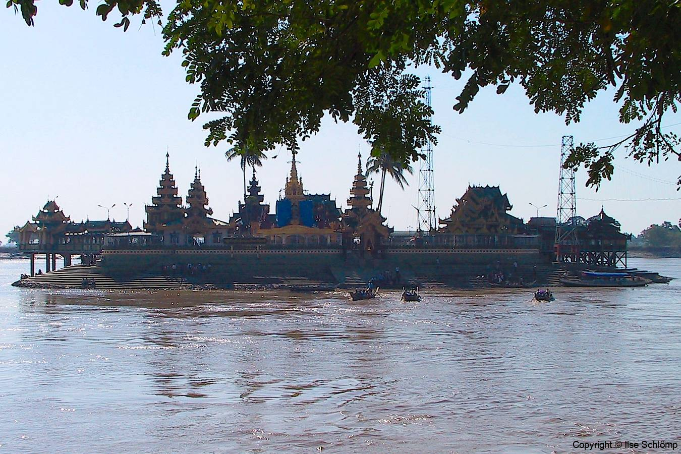 Myanmar, Kyauktan, Yele Paya Pagode