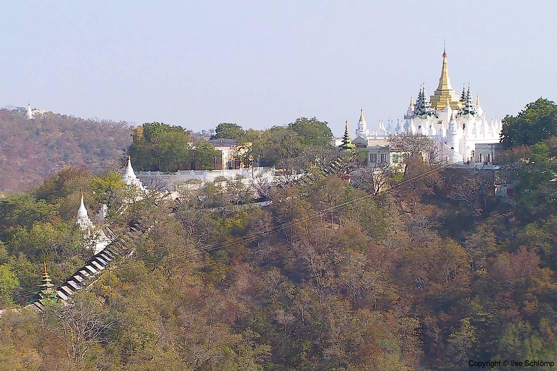 Myanmar, Ausblick auf den Sagaing Hügel