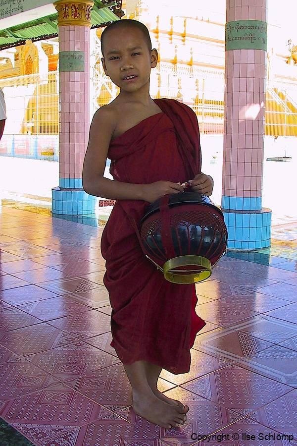 Myanmar, Sagaing Hügel, Sun U Ponnya Shin-Pagode