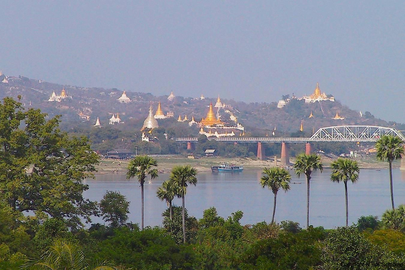 Myanmar, Ava-Brücke nach Sagaing