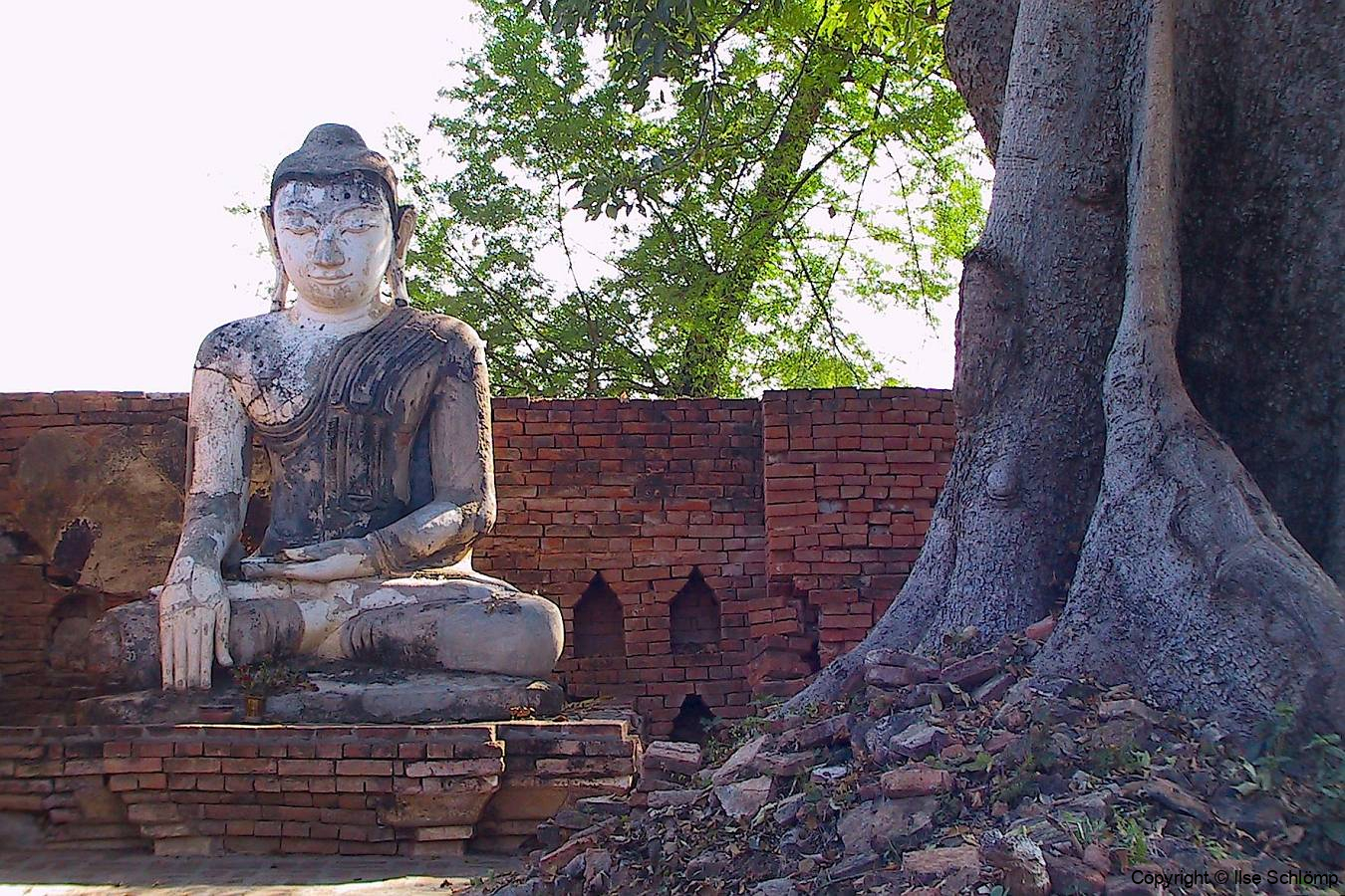 Myanmar, Aung Zaw-Pagode in Ava