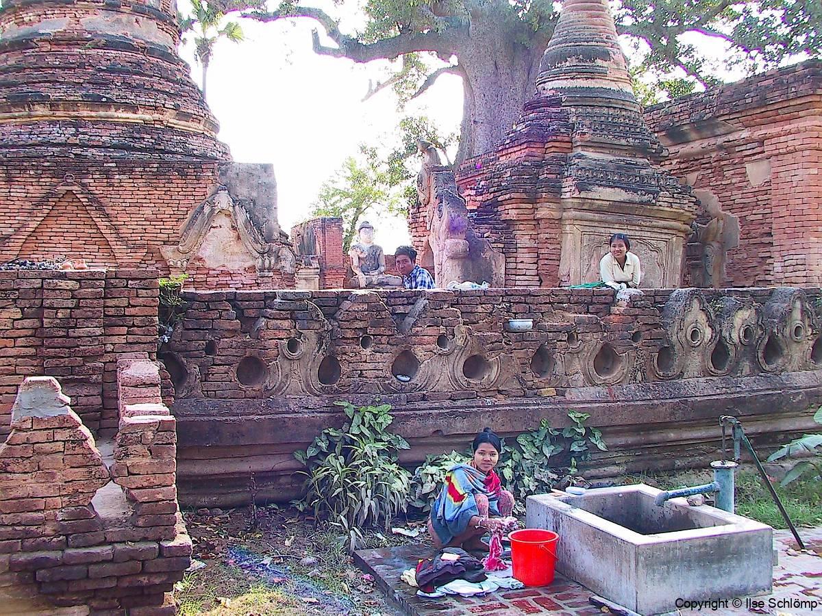 Myanmar, Ruine in Ava