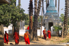 Myanmar, Bagaya-Kloster in Inwa
