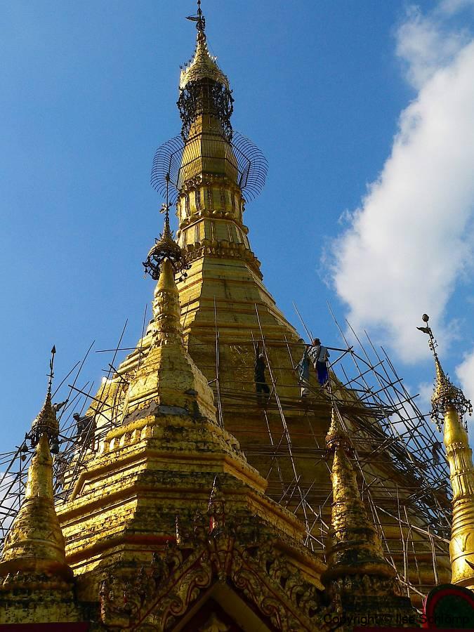 Myanmar, Yangon, Sule Pagode