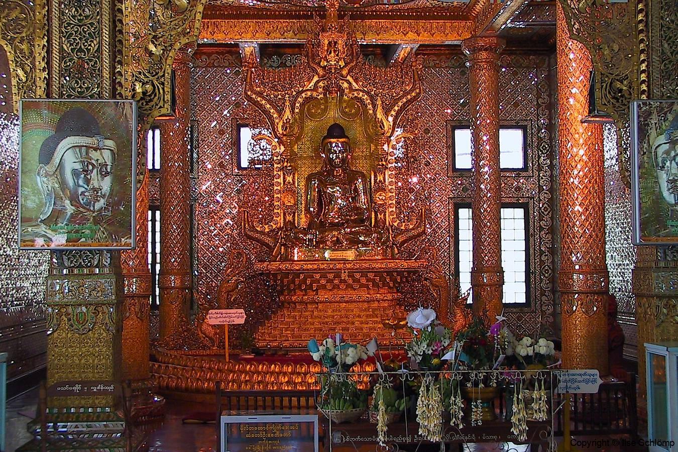 Myanmar, Yangon, Altar Botataung Pagode
