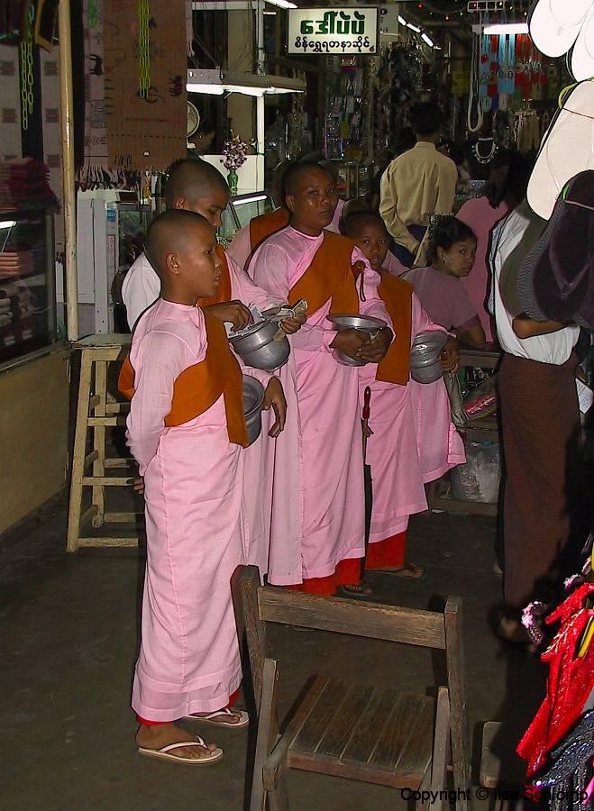 Myanmar, Yangon, Scott Market