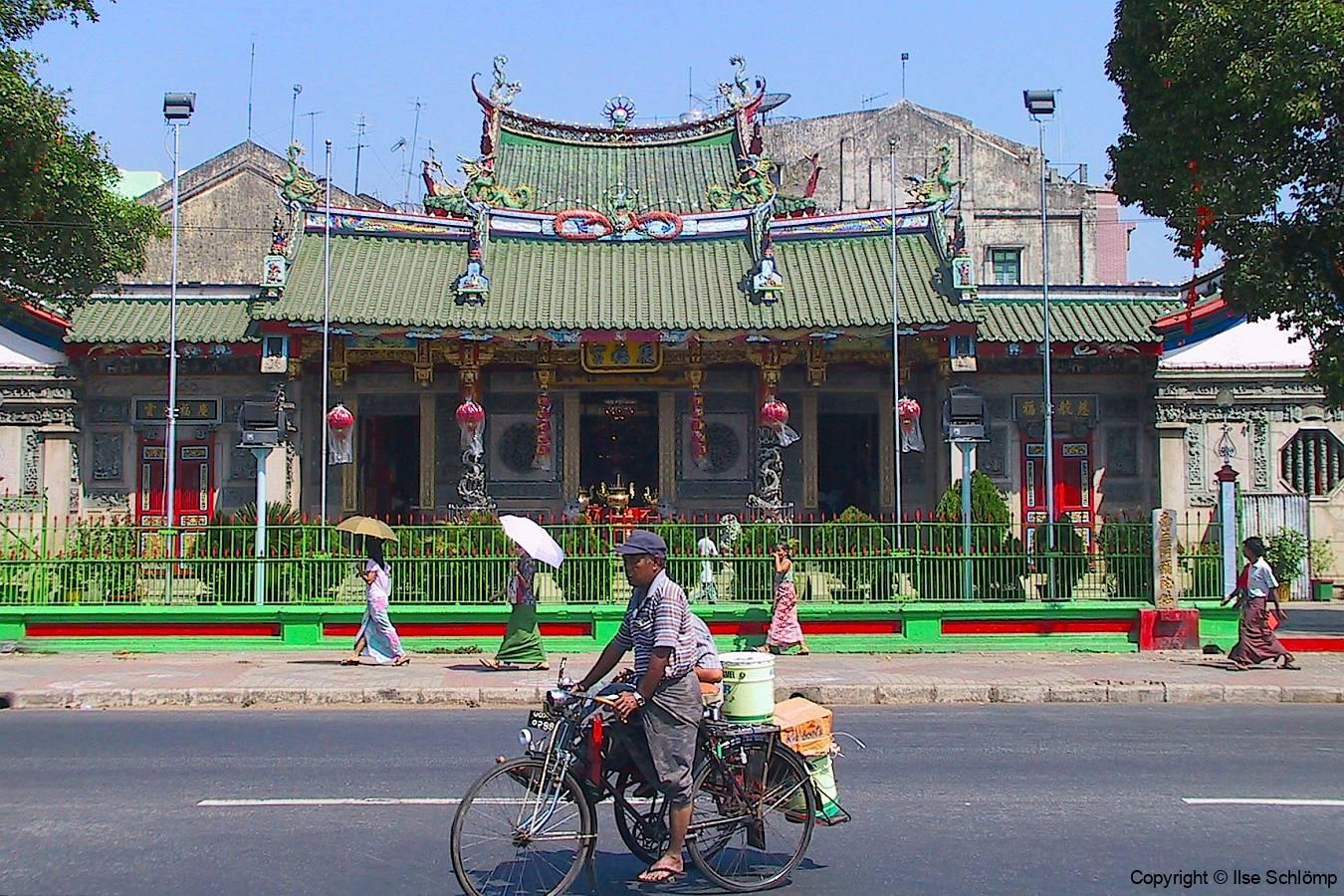 Myanmar, Yangon, Chinesischer Tempel