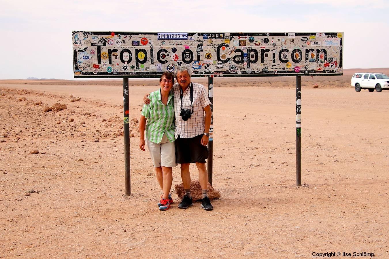 Namibia, Namib Naukluft Nationalpark, Wendekreis des Steinbocks