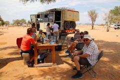 Namibia, Namib Naukluft Nationalpark, Mittagspause