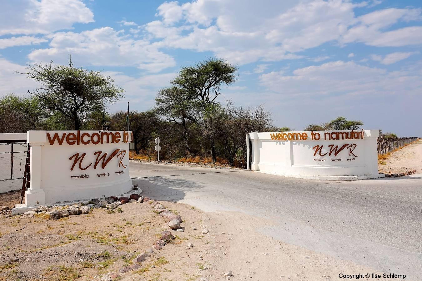 Namibia, Etosha Nationalpark, Fort Namutoni