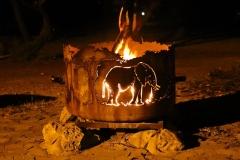Namibia, Etosha Nationalpark, Abendstimmung