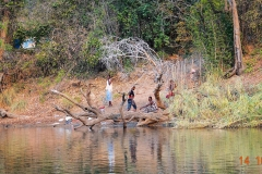 Namibia, Okavango Fluss