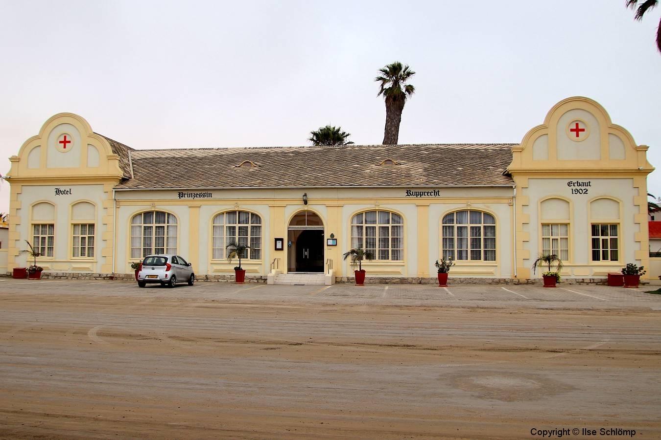 Namibia, Swakopmund, Prinzessin Rupprecht Heim, Ehemaliges Lazarett