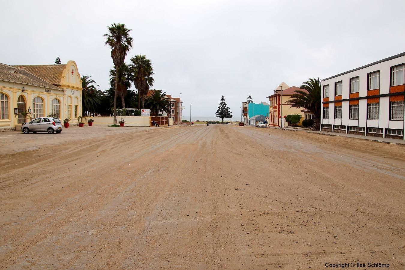 Namibia, Swakopmund, Straßenansicht