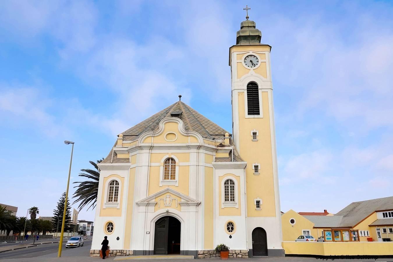 Namibia, Swakopmund, Evangelisch Lutherische Kirche