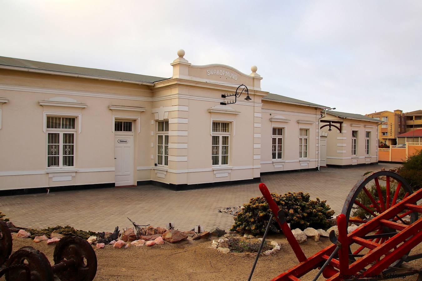 Namibia, Swakopmund, Alter Bahnhof der Otavibahn