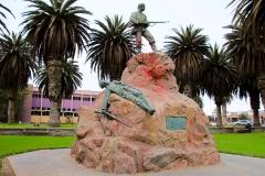 Namibia, Swakopmund, Marine-Denkmal
