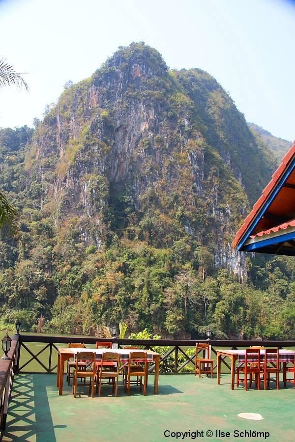 Laos, Ban Nong Khiaw, Nam Ou Fluss, Phaxang Resort