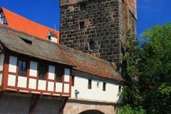 Nürnberg, Henkersteg und Wasserturm