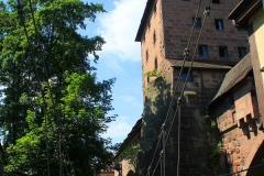 Nürnberg, Kettensteg über der Pegnitz