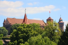 Nürnberg, Blick auf die Nürnberger Burg