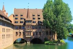 Nürnberg, Heilig-Geist-Spital an der Pegnitz