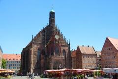 Nürnberg, Hauptmarkt mit Frauenkirche