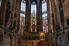 Nürnberg, Frauenkirche, Innenansicht