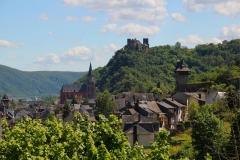 Oberwesel, Blick auf die Schönburg