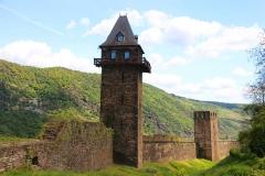 Oberwesel, Stadtmauer mit Michelfeldturm