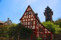 Oberwesel, ehemaliges Küsterhäuschen mit Martinsturm