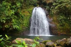 Laos, Oudomxay, Nam Kat Yola-Regenwald, Namkat Wasserfall