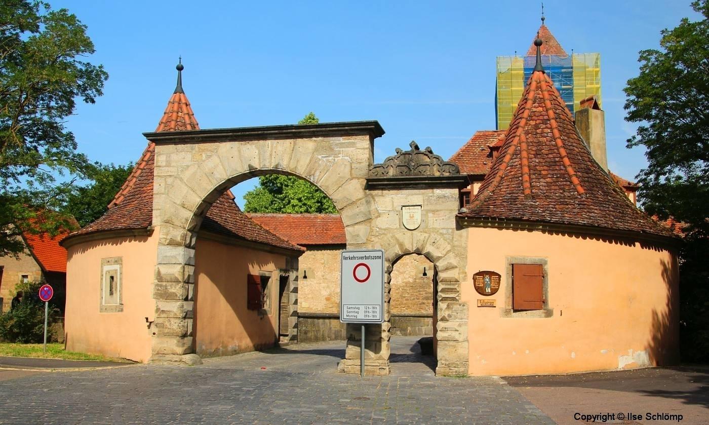 Rothenburg ob der Tauber, Rödertor