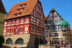 Rothenburg ob der Tauber, Fleisch- und Tanzhaus
