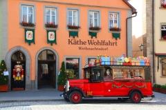 Rothenburg ob der Tauber, Weihnachtsdorf Käthe Wohlfahrt