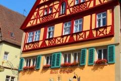 Rothenburg ob der Tauber, Hotel Eisenhut