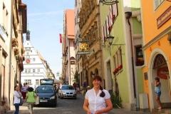 Rothenburg ob der Tauber, Straßenansicht
