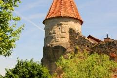 Rothenburg ob der Tauber, Burg