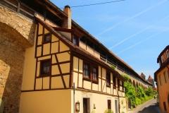 Rothenburg ob der Tauber, Stadtmauer