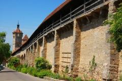 Rothenburg ob der Tauber, Stadtmauer und Klingentor