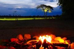 Simbabwe, Hwange Nationalpark, Elephants Eye