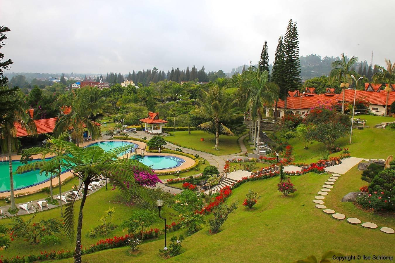 Sumatra, Berastagi, Sinabung Hotel