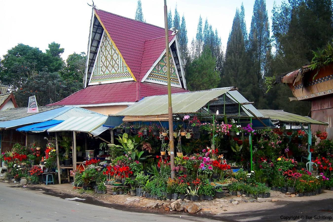 Sumatra, Berastagi, Markt