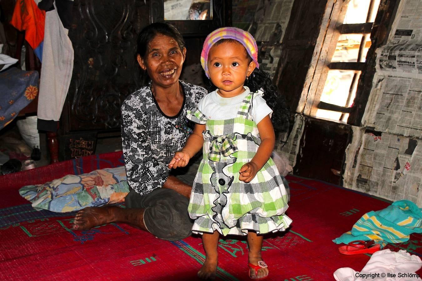 Sumatra, Berastagi, Karo Batak Dorf Lingga