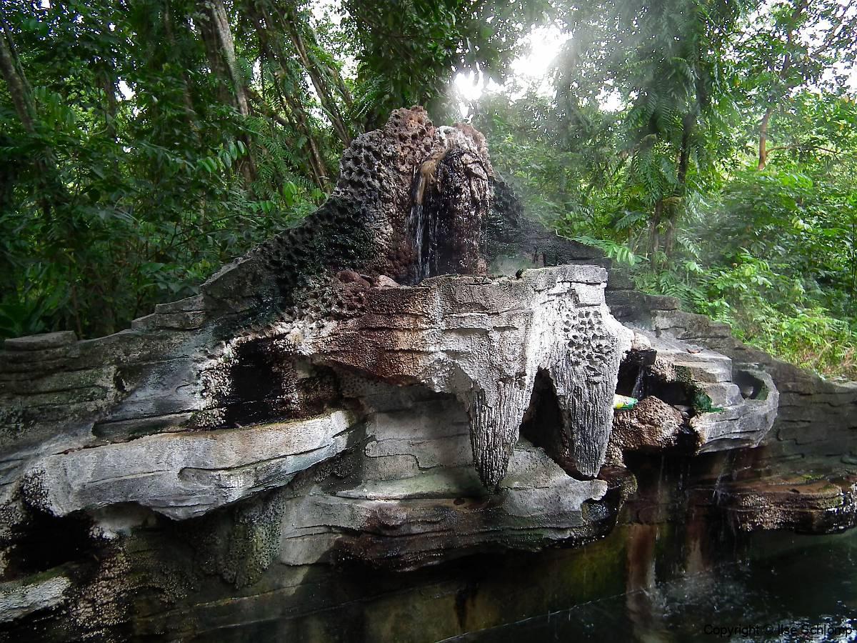 Sumatra, Umgebung Bukittinggi, Heiße Quellen